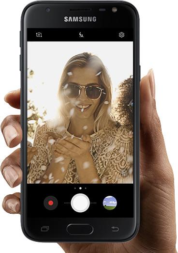 Samsung Niezwykle prosty i intuicyjny interfejs aparatu