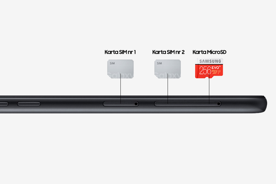 Samsung Dual SIM*. Korzystaj z dwóch kart SIM jednocześnie