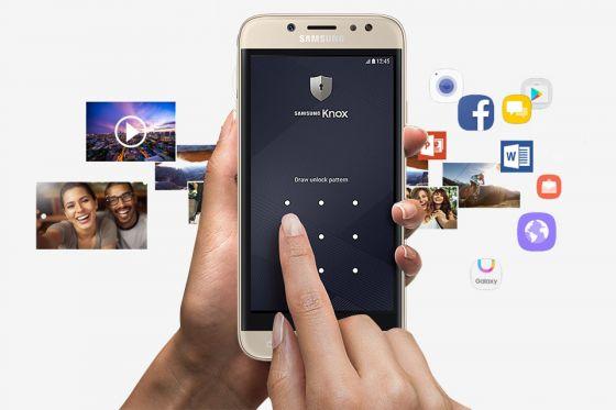 Samsung Bezpieczny folder. Całkowicie prywatna przestrzeń