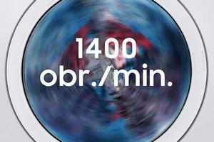Wysokie obroty 1400 obr./min