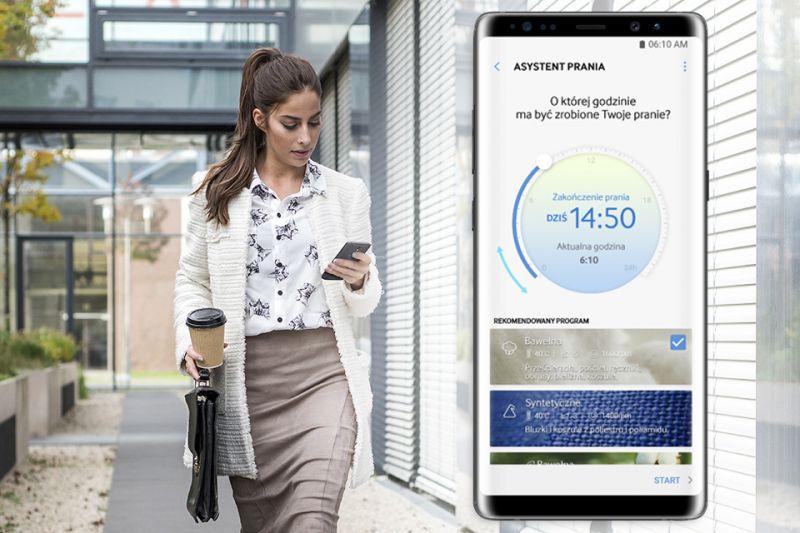 Steruj praniem ze smartfona. Smart Control