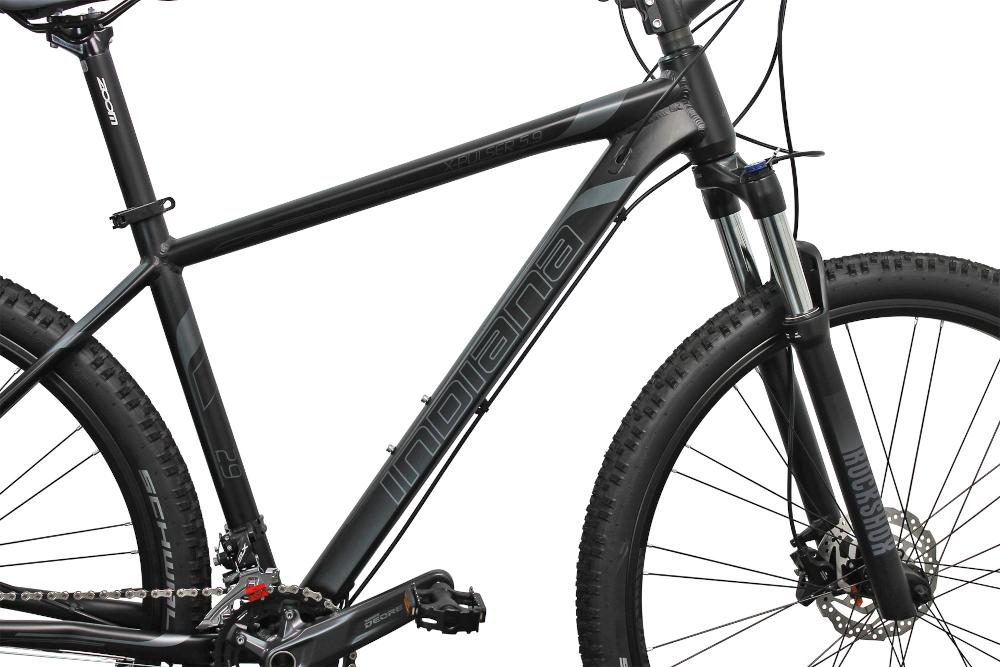 Rower górski MTB INDIANA X-Pulser 5.9 M23 29 cali męski Czarno-grafitowy rama objęta jest 2-letnią gwarancją najwyższej jakości